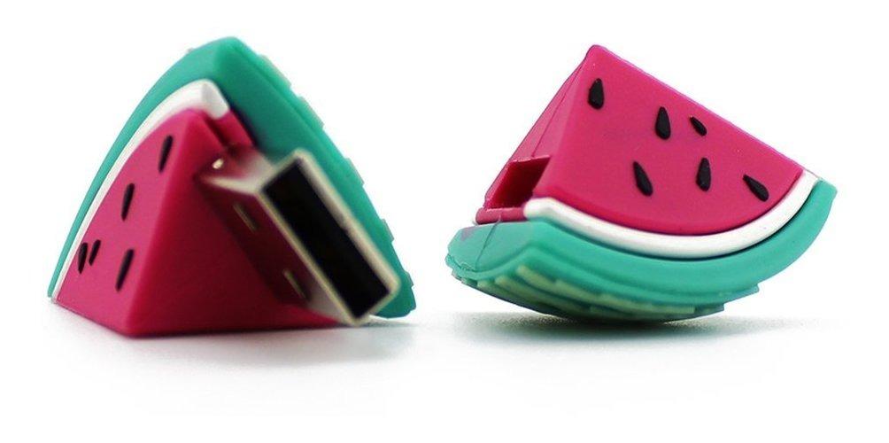 Coloridos Dos Desenhos Animados Melancia Usb Flash Drive Pen R