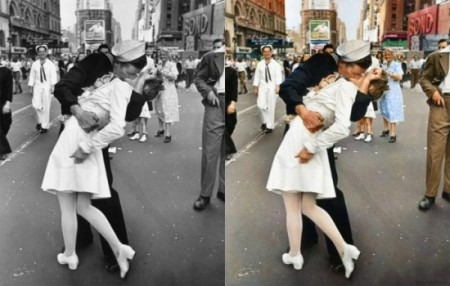 colorimos suas fotos antigas de preto e branco para colorida