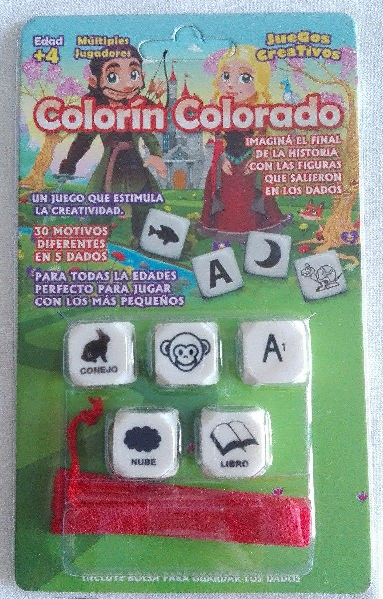 Colorin Colorado Juego De Mesa De Historias 5 Dados 4 Anos 240