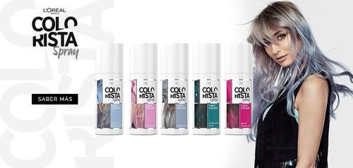colorista spray color fantasía para cabello 1 dia de loreal