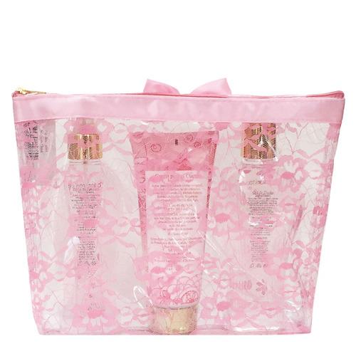 colorstools kit de regalo con cosmetiquera (flor de cerezo)