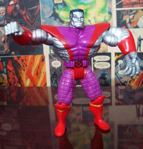colossus boneco x-men variante toybiz 1996 marvel mrpunka