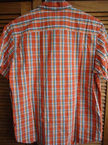 columbia camisa talla l sistema sun protection.
