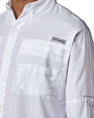 columbia hombres pfg tamiami ii camisa de manga larga