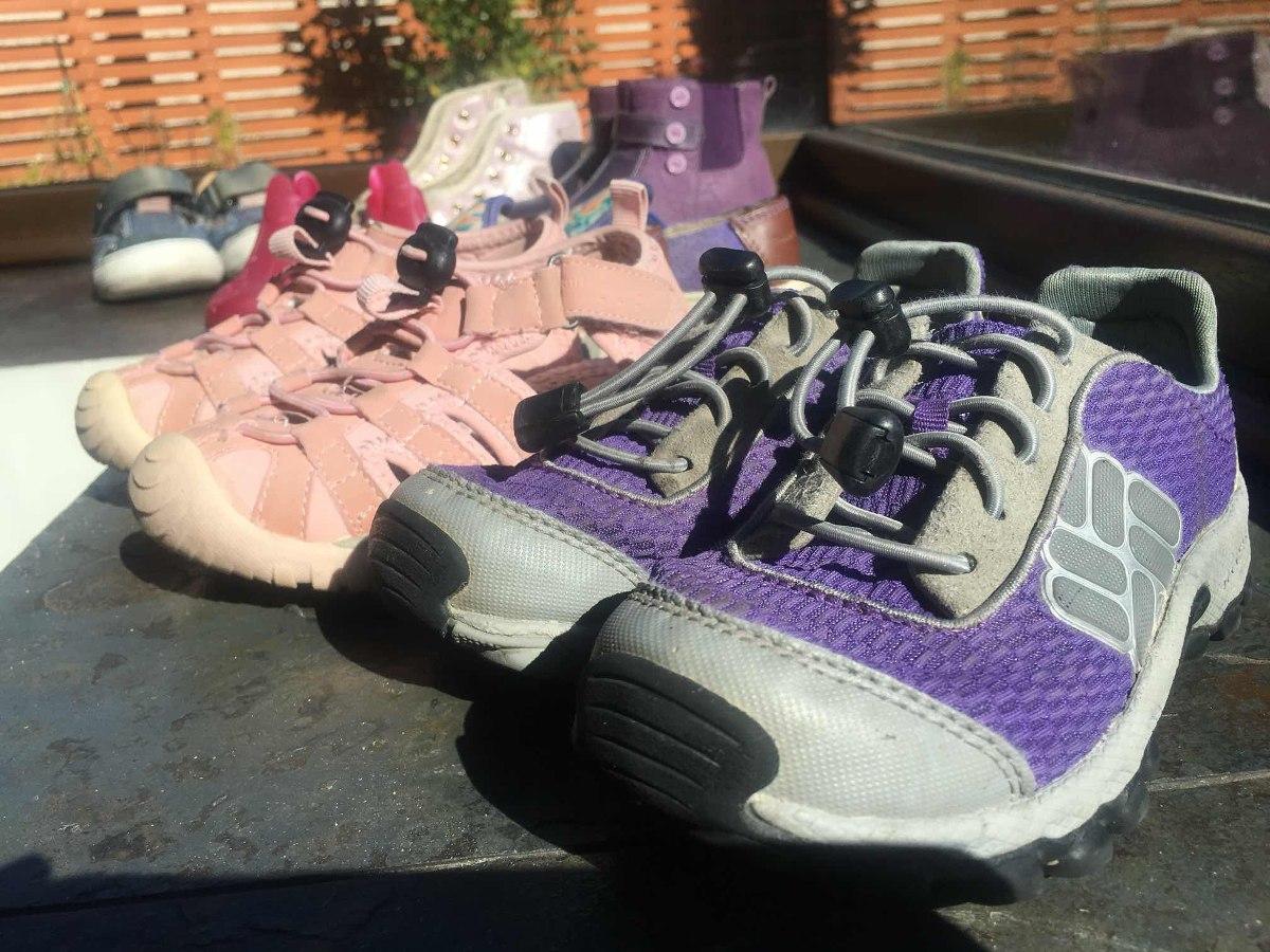 977e6dc0 Columbia Hush Puppies Colloky Opaline 7 Pares Zapatos Niña ...