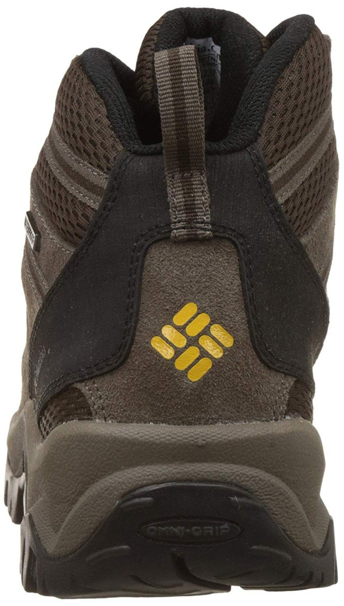 Columbia Mens Grants Pass WP Lace Up Hiking Sneakers