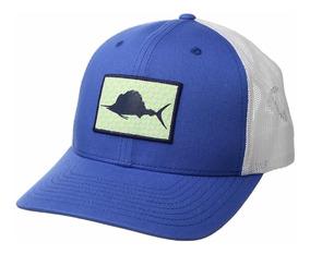 c0aa37724c6c Columbia Pfg - Gorra De Malla Vivid Blue/gingham Fish