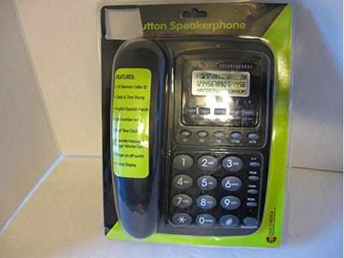 columbia teléfono, botón grande con altavoz, identificador d