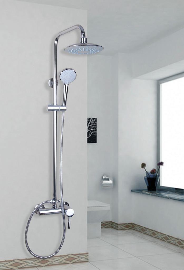 Columna ba o regadera redonda lluvia ducha mano set 0241365 3 en mercado libre - Duchas para bano ...