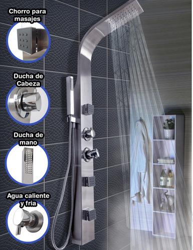 columna de ducha escocesa hidromasaje jets  movibles oferta