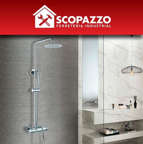 columna de ducha exterior duchador de mano was-ser dusche-02
