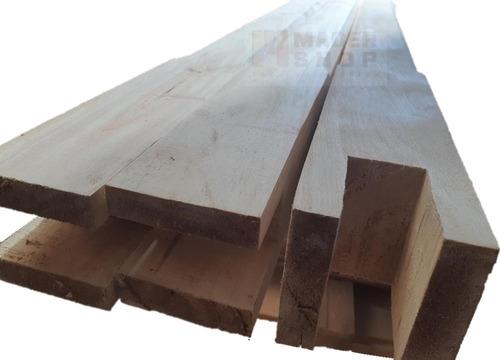 columna de madera pino, cep. lijado,biselada, 4 x 4  x 3,00 - mader shop