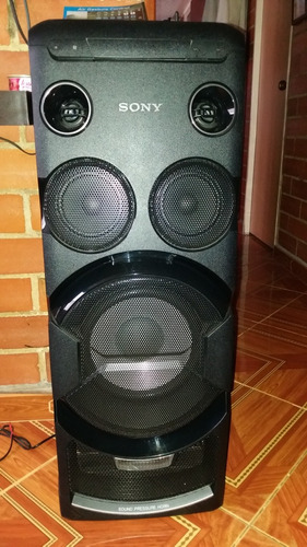 columna de sonido sony mhc-v7d