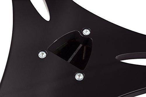 columna de soporte para monitor con almohadillas de desacopl