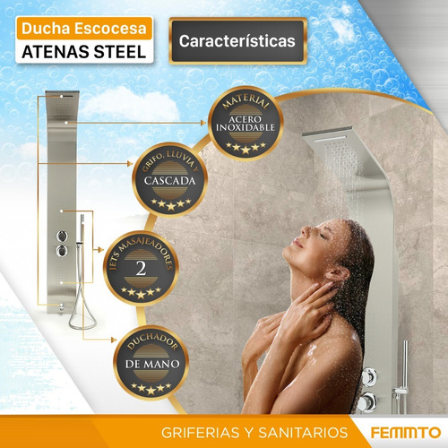 columna duchador ducha con