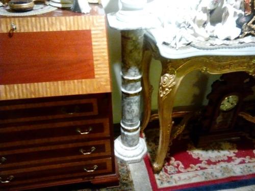 columna en alabastro  francesa y no marmol