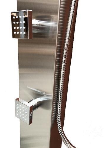 columna escocesa de ducha acero inox 3 jets mod. cf3016b