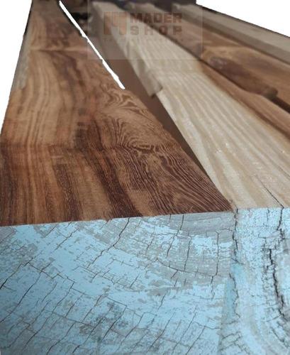columna madera dura, cep.lijada,biselada 6 x 6  x 3,00 mts - mader shop