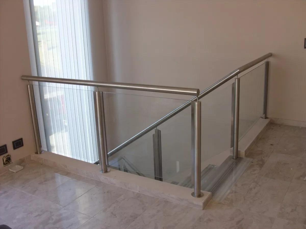 Barandas Escaleras Vidrio Y Madera En Mercado Libre Argentina ~ Barandillas De Cristal Para Escaleras Interiores