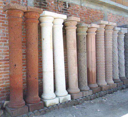 Columnas de cantera 30cm de di metro 2 en for Pilares y columnas
