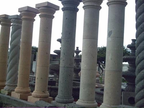 columnas de cantera 30cm de diámetro