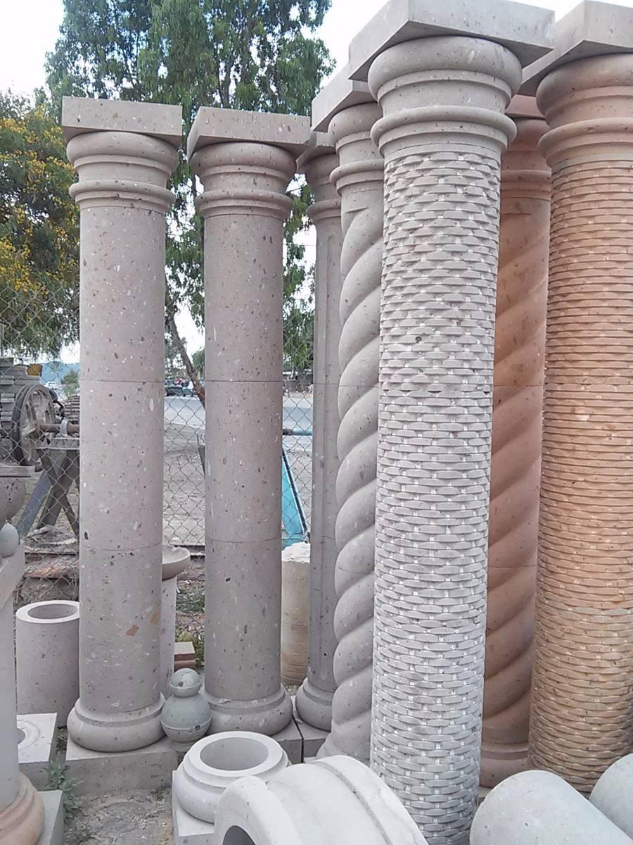 Columnas de cantera de mts altura y 30 cm diametro for Pilares y columnas