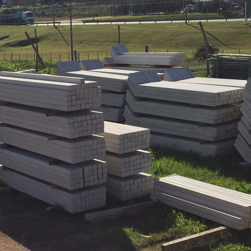 columnas de hormigón para iluminación y contador ute hsta 6m