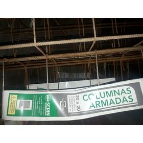 Columnas Hierro/sold,20x20-3m, 10unid