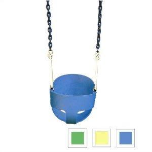 columpio cubo completo en azul