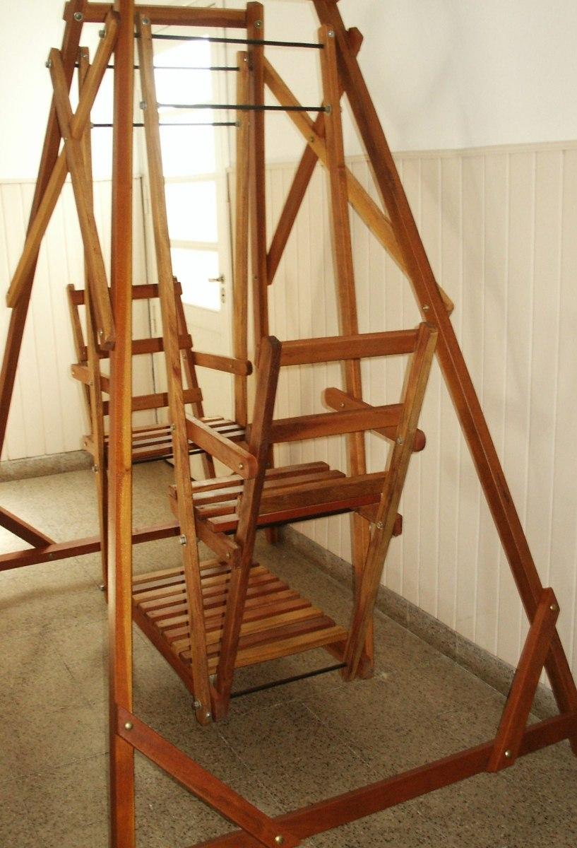 Sillon columpio silln y columpio para tu hogar paga slo for Sillon jardin madera