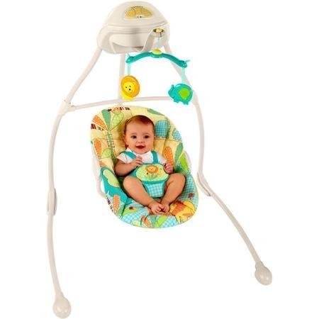 Columpio mecedora 6 velocidades musical relajante bebe e4f for Silla mecedora graco 6 velocidades