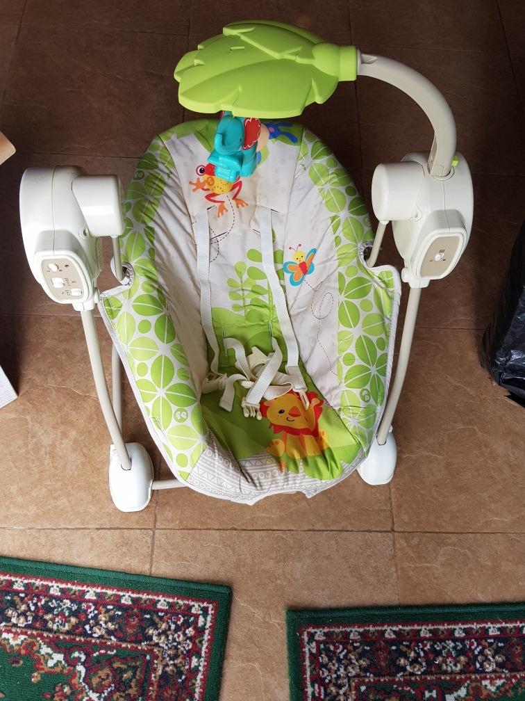11cb0a103 Columpio Mecedora Hamaca Fisher Price - $ 3.000,00 en Mercado Libre