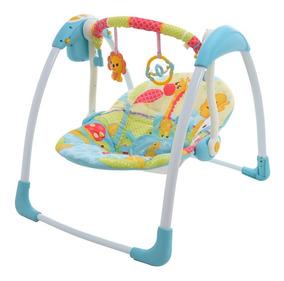 56411c1a3 Columpio Bebe Prinsel Rialto Mecedor Musical Plegable Azul