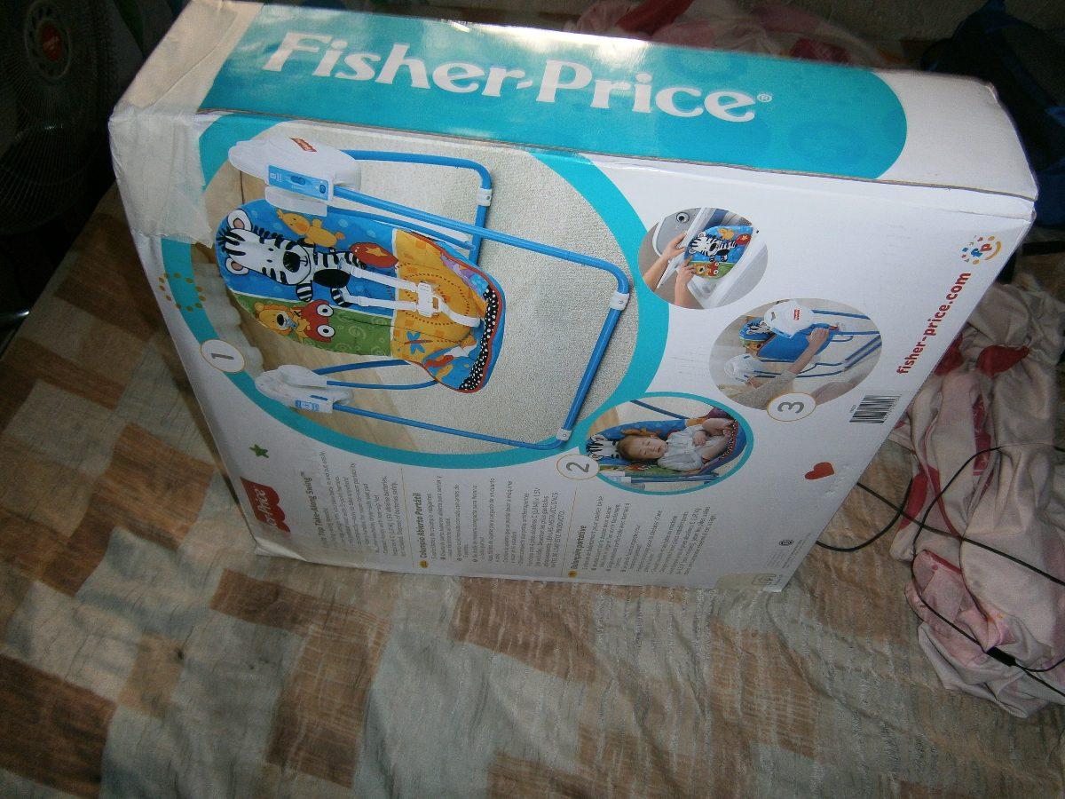 Columpio para bebe fisher price bs 0 36 en mercado libre for Espejo retrovisor bebe fisher price