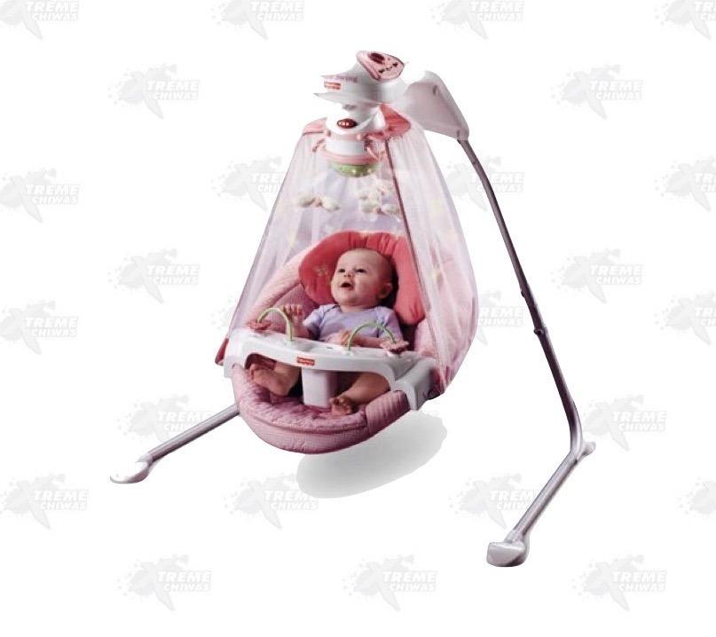 Columpio Para Bebé Jardín Mariposas Fisher Price Xtreme P ...