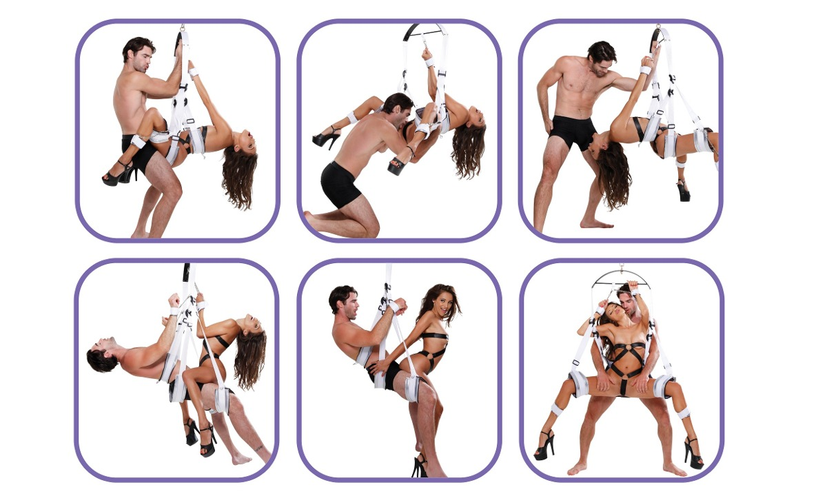 Columpio Sexual Posiciones Reforzado Mltiples Accesorios -9447