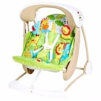 columpio silla portatil amigos de la naturaleza fisher price