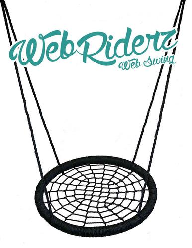 columpio web riderz de exteriores, n' spin, soporta peso
