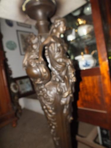 coluna em pit bronze