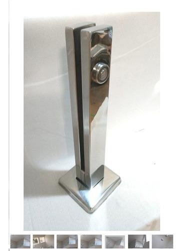 coluna torre em inox 30 cm guarda corpo pronta entrega
