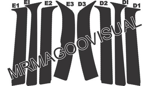 colunas pretas corsa g1 4 portas / classic