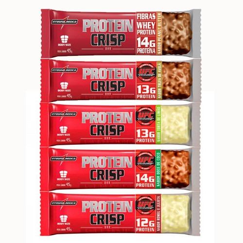 9f9d77d84 Crisp Bar - Caixa Com 12un Integralmedica Barra De Proteína - R  45 ...
