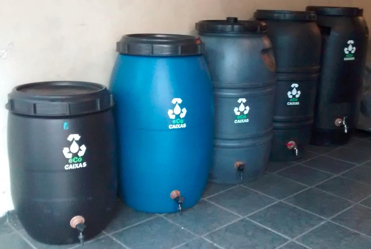 Eco caixa 100 litros com torneira bombona caixa d 39 gua r for Tambores para agua