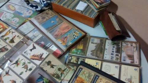 com cartões coleção