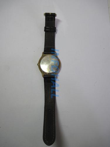 com defeito relógio technos 3295 tec 965 pulseira em couro