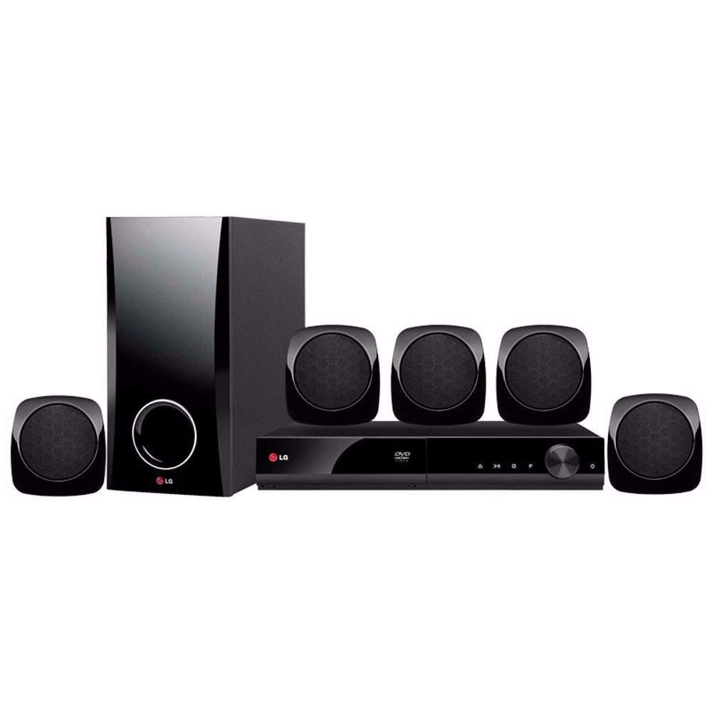 Home Theater O Cinema Na Sua Casa: Home Theater Lg Dh4130s Com Dvd 330w Rms