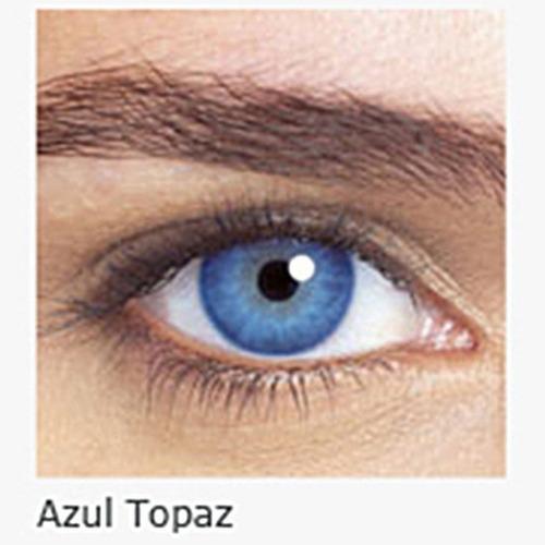 com grau lente contato