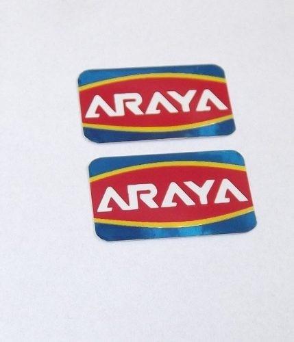 com letras brancas - adesivo araya caloi cross extra light