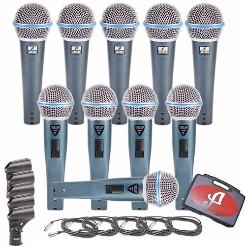 com microfones arcano