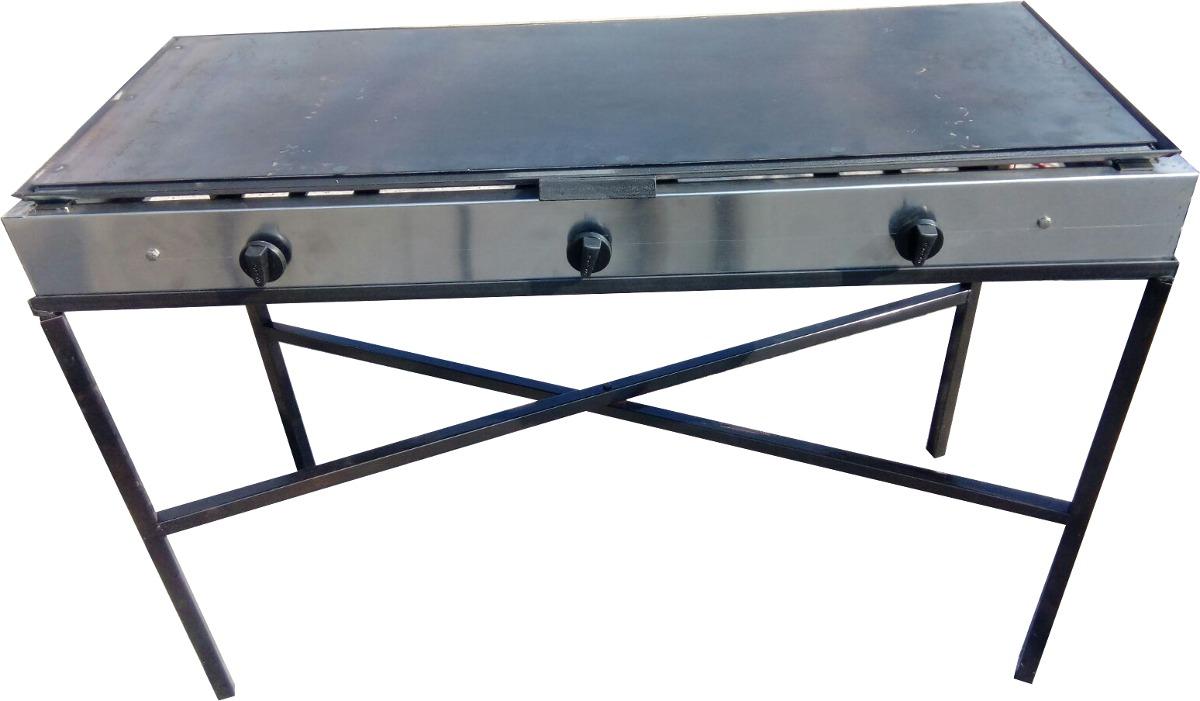 Comal estufa plancha quemador restaurante 2 en - Plancha para cocina a gas ...